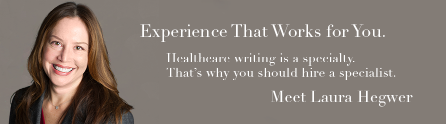 Experience that works. Laura Hegwer